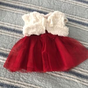 Cherokee infant dress with sweater
